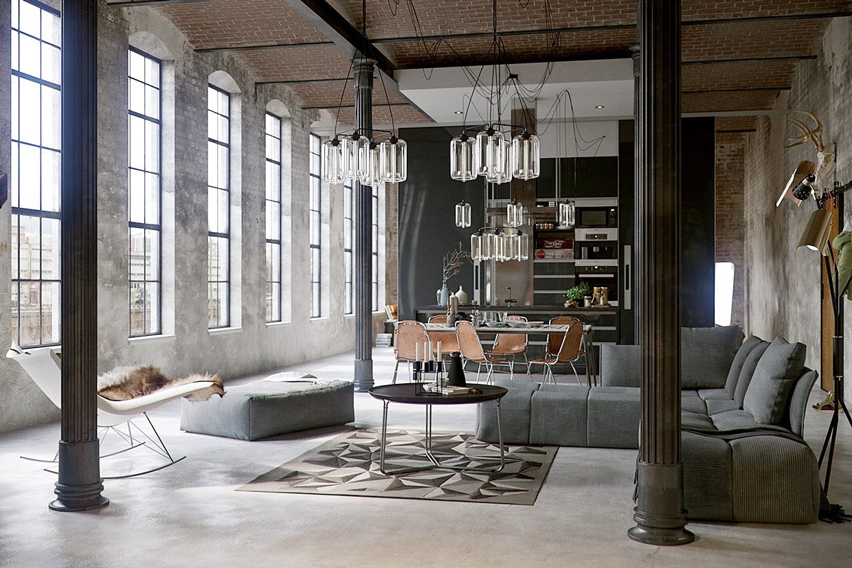 DECORACIÓN INDUSTRIAL: CLAVES DEL ESTILO