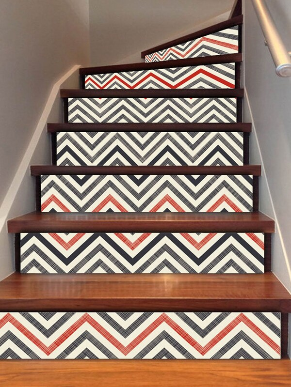 DIY: ESCALERAS CHEVRON